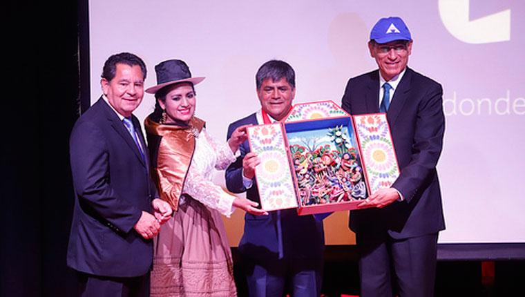 Se presentó la Marca Ayacucho con la presencia del presidente Vizcarra