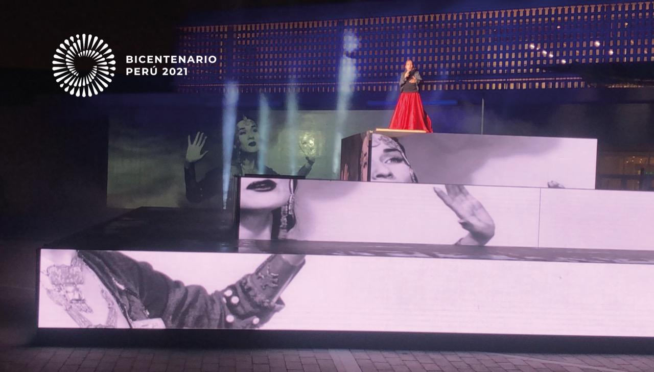 """Hermanos Yaipén y Dina Paucar interpretan canción de la campaña """"Unidos por el Bicentenario"""" en cumbia y huayno"""